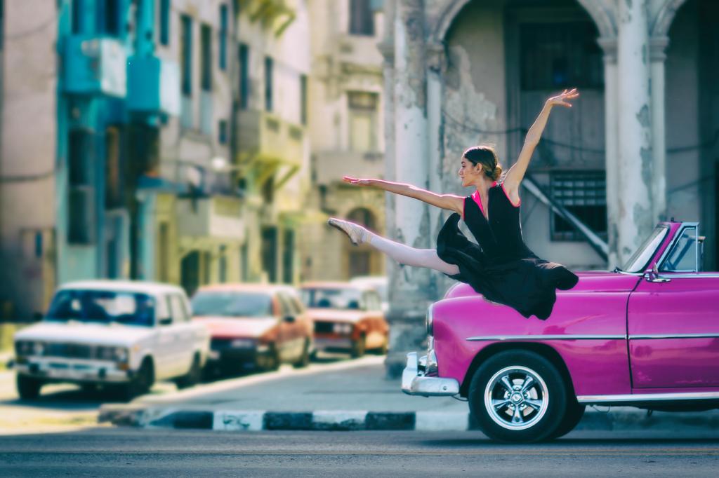 Dancer in Havana Cuba